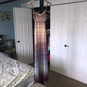 EUC Charlie Jade | Sm Hippie Long Maxi Wrap Dress